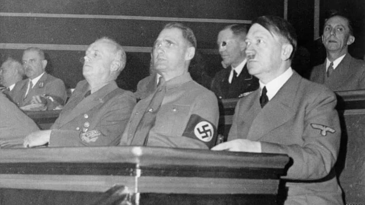 Hitler's deputy Rudolf Hess parachutes into Scotland