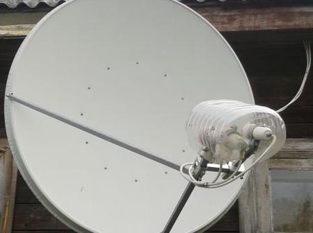 Stop Satellite Dish Covering