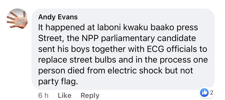 e6eb3947d7e5b6cbfb71f020ed760fbd?quality=uhq&resize=720 - The Man Who Got Electrocuted Whiles Allegedly Fixing His Party's Flag Party Has Been Recognized