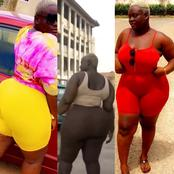 See photos of Ama Thundra, Ras Nene's acting partner which is causing stir on social media