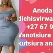 See what this Zim lady posted on facebook that nearly got her into trouble