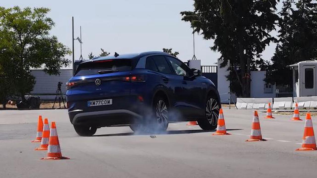 VIDEO – La Volkswagen ID.4 passe le test de l'élan, mais ce n'est pas parfait