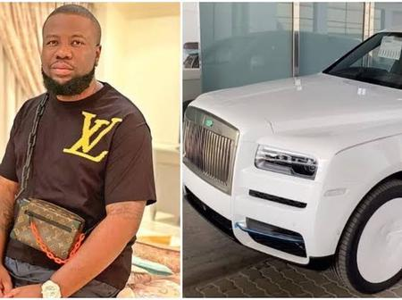 Heartbreaking: Hushpuppi's 2020 Rolls Royce enough to create job for thousands of youths.