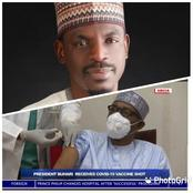 Hours After Bashir Said Buhari Has Taken The AstraZeneca COVID-19 Vaccine, See How People Reacted.
