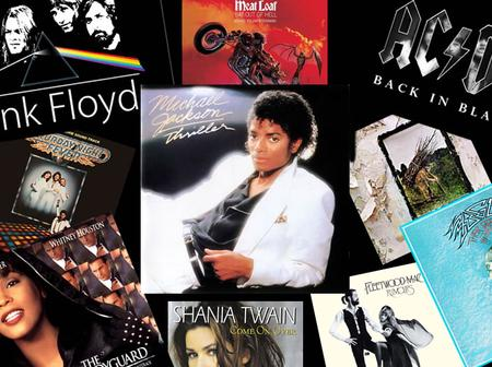 Check Out Top 10 Selling Music Albums Of All Time