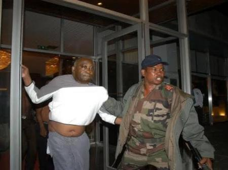 See The Former African President That Cried After He Was Dragged And Disgraced Out Of Office (Photo)