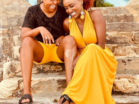 Makena Njeri's Message To Her BFF Michele Ntalami