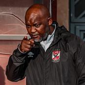 Mosimane was Left Angered by a Question he was Asked by a Journalist after Al Ahly Dropped Points
