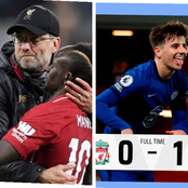 Check Out What Klopp Said To Liverpool Players After Losing To Chelsea