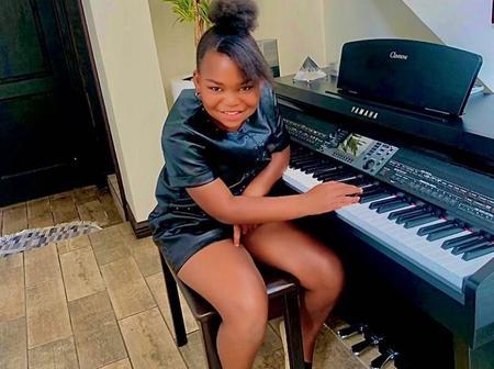 Meet Kimberly : Khama Billiat's beautiful daughter.