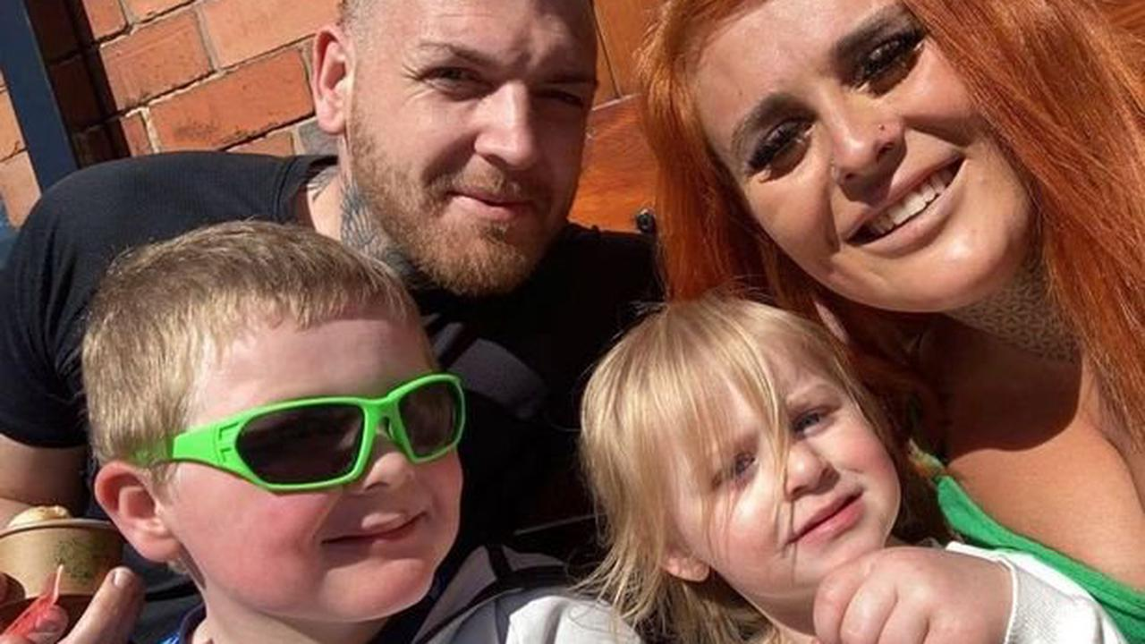 Partner of 'outstanding' young dad fought to save him as children watched