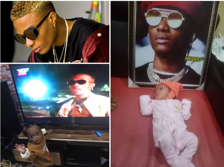 Man who Dedicated his son to Wizkid fires back at those criticizing him, Read what he said.