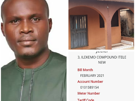 Mixed Reactions As Man Called Out Ikeja Electricity Company For Sending A Bill To Unconnected House