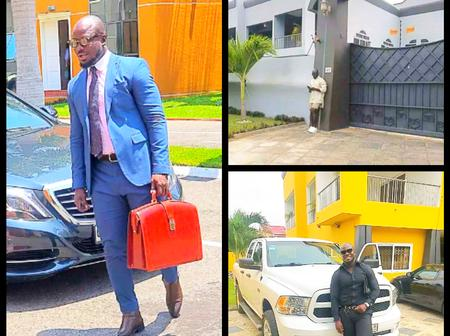 It's all hard works: Ex Black stars player Stephen Appiah put his house on display