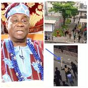 Be warned! Lagos Residents Advised To Stay Indoor, See Video Of Oba of Lagos' Stolen Staff Of Office
