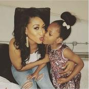 See Beautiful Pictures Of Oge Okoye, Her Husband And Daughter
