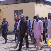 Insurgent Attack: Governor Zulum Returns To Dikwa After Second Attack And Joins Friday Prayers