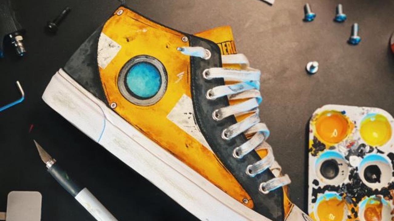 Découvrez ces superbes chaussures Claptrap !