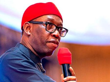 Governor Okowa addresses Deltans, orders closure of schools in the state.