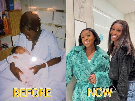 Meet Amina, She Got Pregnant At The Age Of 17, You Cannot Differentiate Between Her And Her Daughter