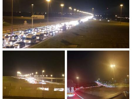 VIDEO:Limpopo N1 highway produces a huge traffic