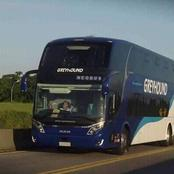 Greyhound Double Decker Bus With Executive Features Elicit Mixed Reactions Among Kenyans