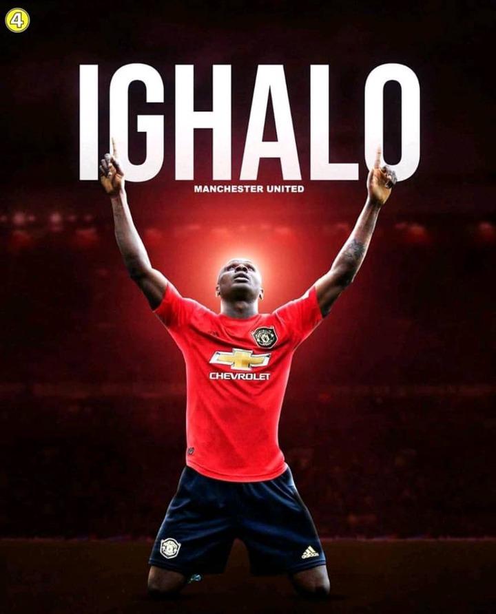 Nigerians Ighalo joining Manchester United