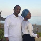 Photos Of Zarah Buhari And Her Husband