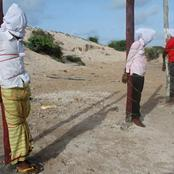 5 Men Publicly Executed By The Al Shabaab For Being Spies Of The US And Somali Government