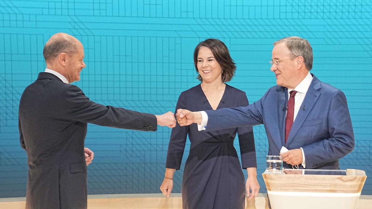 Debakel für die CDU deutet sich an: Rettet ausgerechnet Scholz Kontrahent Laschet vor der Mega-Blamage?