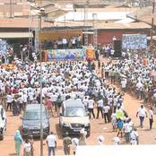 Le ministre Touré Mamadou et le RHDP font une démonstration de force à Daloa