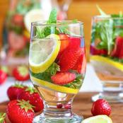 A Cinnamon And Strawberry Detox Water Recipe