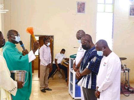 Kwadwo Oppong Nkrumah Shares His Unexpected Experience At Ofoase Presbyterian Church