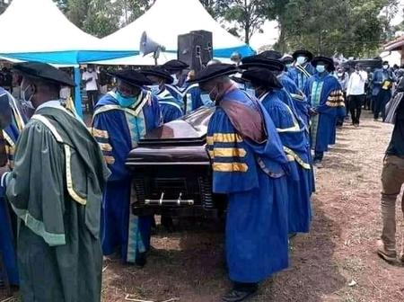 See The Strange Way This Man Was Buried That Stirs Reactions