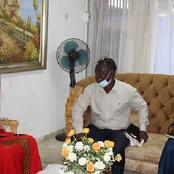Après son interview avec France 24, Madame Simone Gbagbo reçoit une délégation de Gagnoa