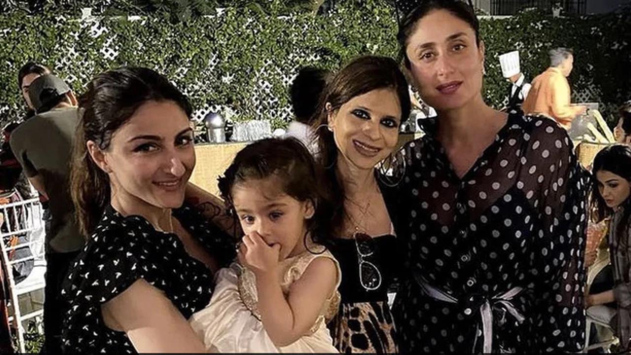 Kareena Kapoor Twins With Soha in Saba Ali Khan's Throwback Pic