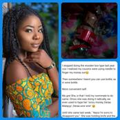 3 Weeks After I Told my Roommate To Start Saving In Plastic Bottle, See What She Did To Hers -Lady