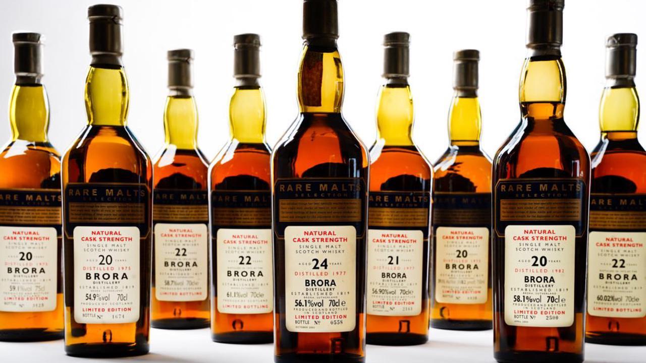 brora whisky auction scotland