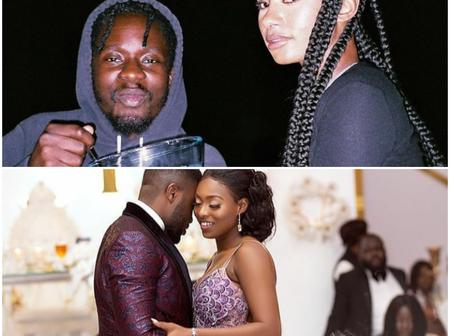 VALS DAY SPECIAL:romantic couple goals of Mr Eazi, Temi Otedola and KENCY2020