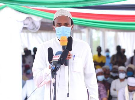 Newly Elected Senator Abdulkadir Haji Has Given His Biggest Challenge As Senator