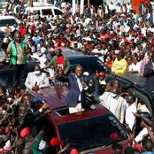 PHOTOS: Moi Brings Kabartonjo Town to a Stand Still as a Mammoth Crowd Receives Him