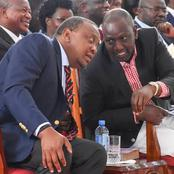 President Uhuru And DP Ruto Set To Reunite In Statehouse Through A Crucial Cabinet Meeting