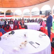 Details of DP Ruto's Meeting With Celebrities From Rift Valley that Have Sparked Reactions