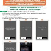 Fonction Publique CI : Nouvelles informations concernant les inscriptions en ligne (images)