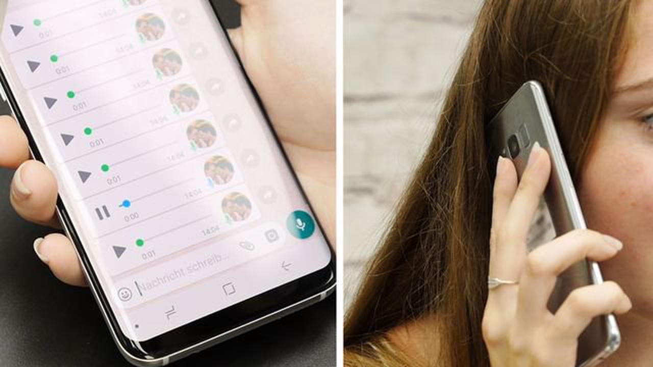 Versteckte WhatsApp-Funktion: Wer viele Sprachnachrichten abruft, sollte sie kennen