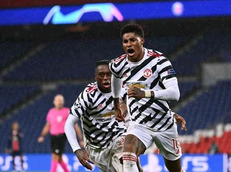 After Manchester United Defeated PSG 2 - 1 Today, See Photos Of Manchester United Players In Action