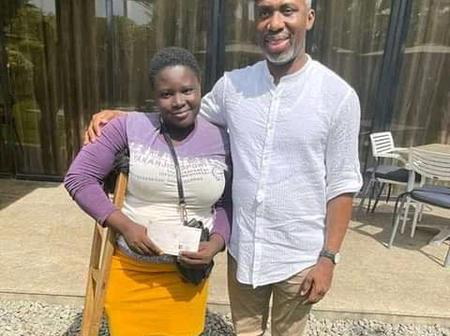 Mary Daniel Receives N1 Million From Former Imo State Chief of staff, set to open provision business