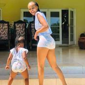Check out the beauty of an actress Duma Ntando(Zinzi) and her Daughter