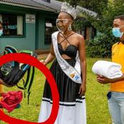 People notice something after Miss SA 2020 posted this online
