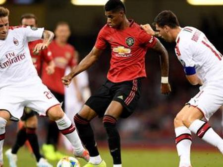 Europa League Draw: Man Utd To Face AC Milan, See All The Europa League Last-16 Draw